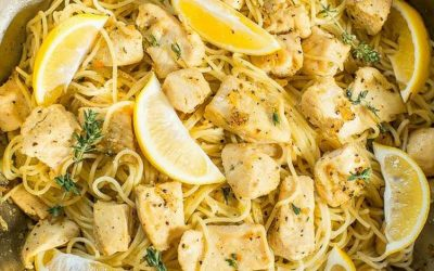 Honey Lemon Chicken Pasta
