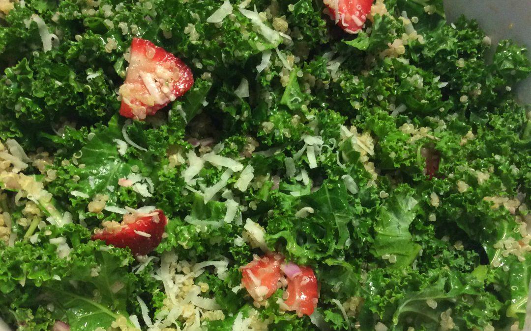 Kale & Quinoa Strawberry Salad